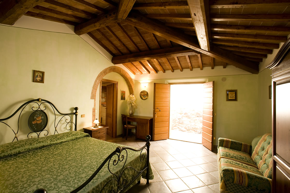Camere agriturismo Toscana bed and breakfast bb Siena ...